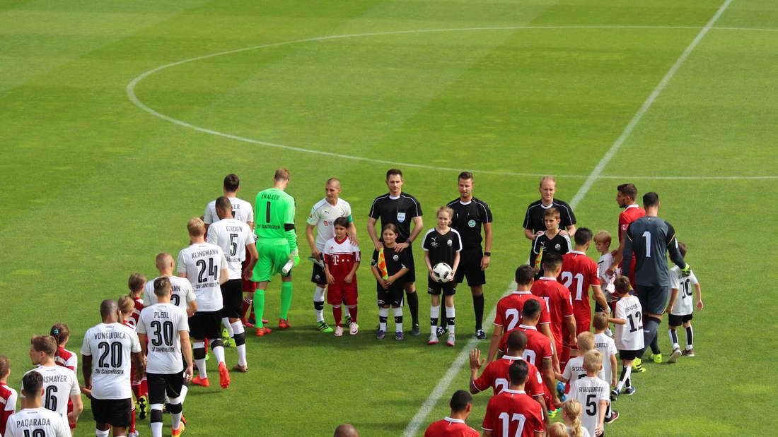 Testspiel zwischen dem SV Sandhausen und dem FC Sevilla.