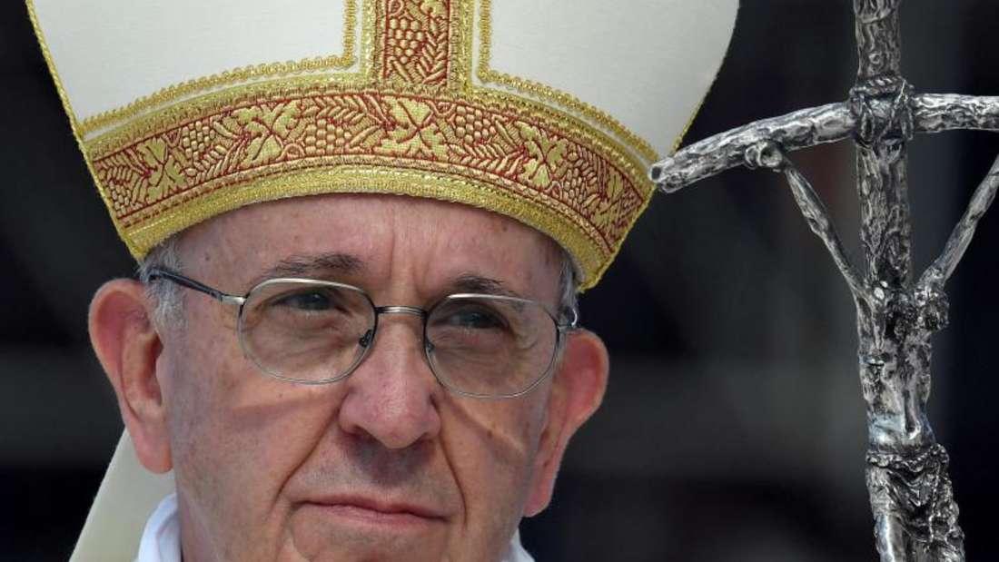 Apell: Der Papst forderte die Jugendlichen auf, «Hass zwischen den Völkern» nicht zu akzeptieren und sich einzumischen. Foto: Daniel Dal Zennaro