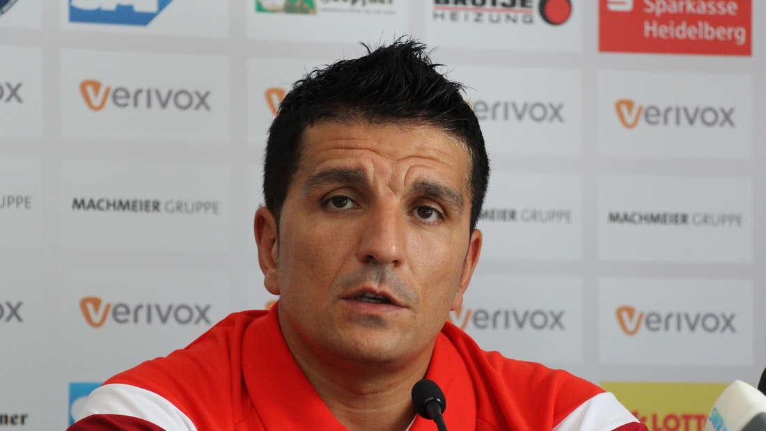 Kenan Kocak steht vor seiner ersten Zweitliga-Saison als SVS-Coach.