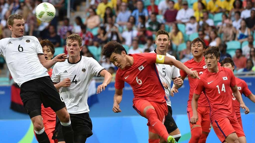 Olympia 2016 Unentschieden Gegen Südkorea Dfb Männer Müssen