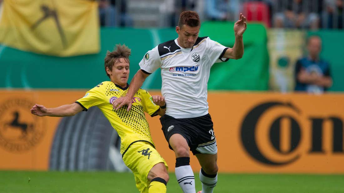 DFB-Pokal - SV Sandhausen - Borussia Dortmund