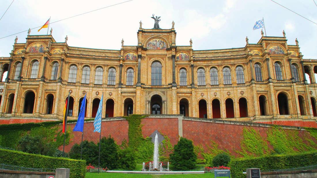 DasMaximilianeum istDeutschlands exklusivstes Studentenwohnheim.