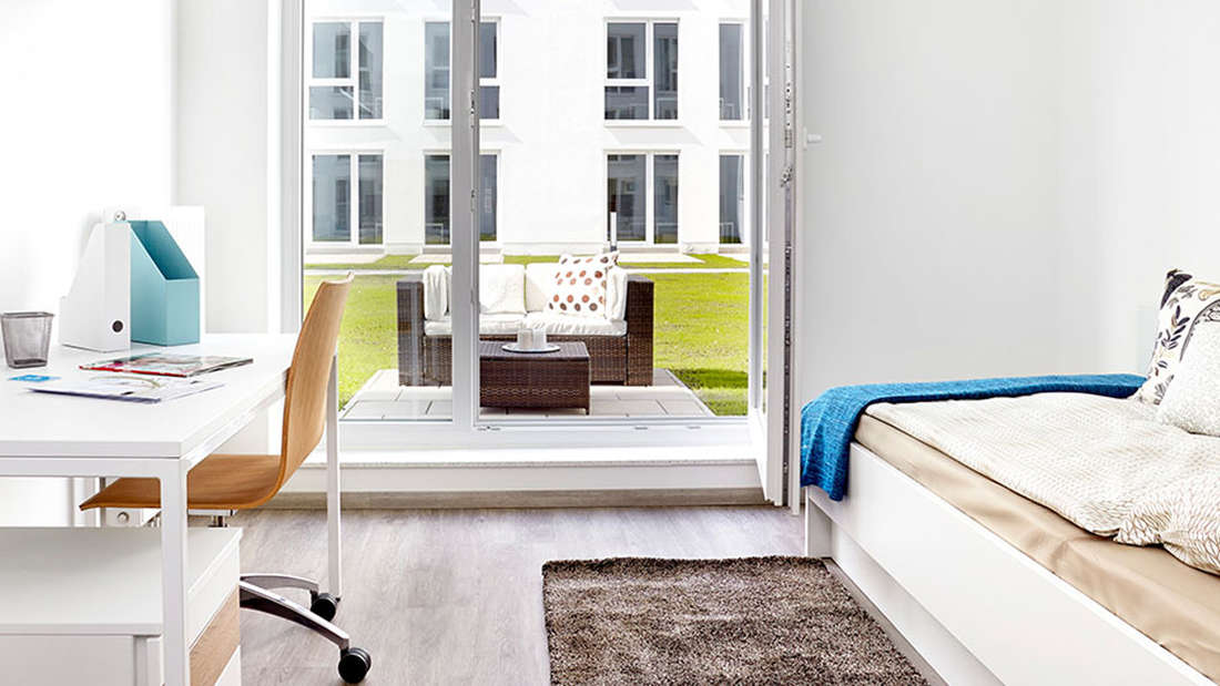 Die Apartments im Twenty First in Kiel.