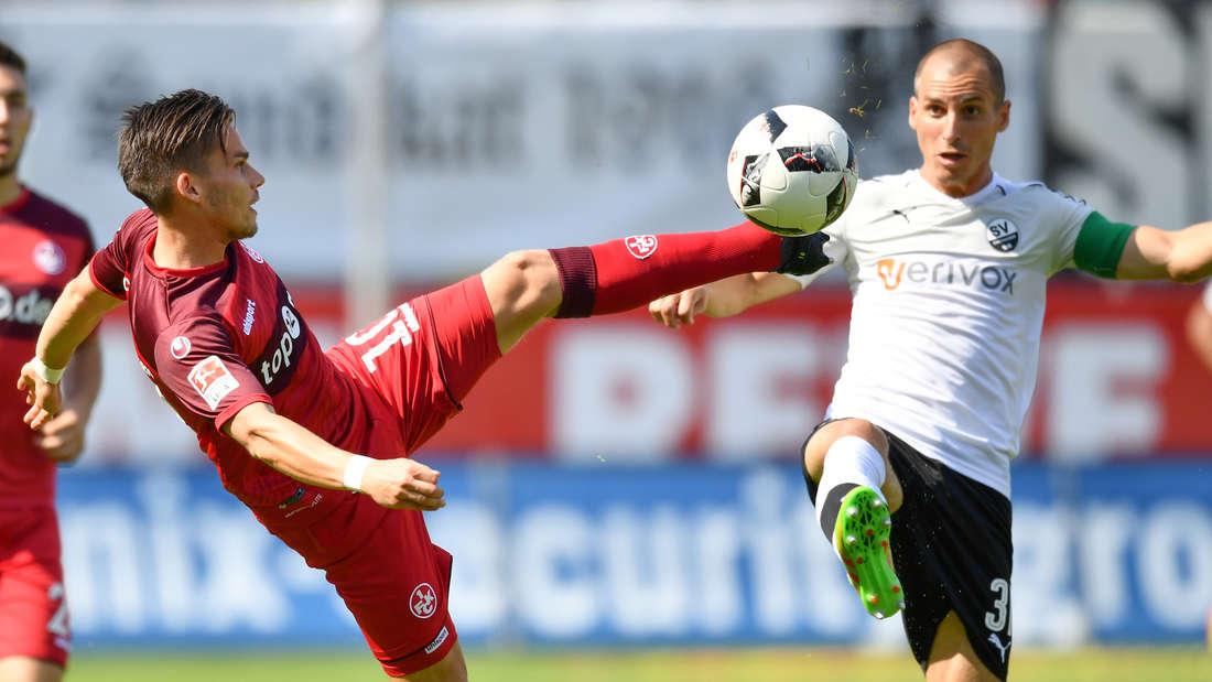 SV Sandhausen - 1. FC Kaiserslautern
