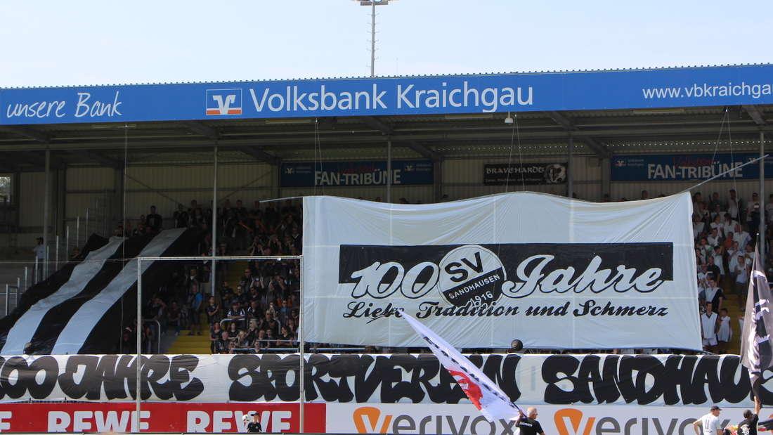 SV Sandhausen gewinnt 2:0 gegen den 1. FC Kaiserslautern.