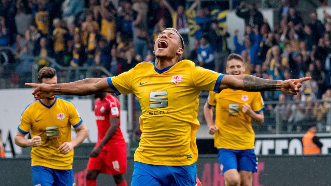 SV Sandhausen verliert beim Spitzenreiter Eintracht Braunschweig.
