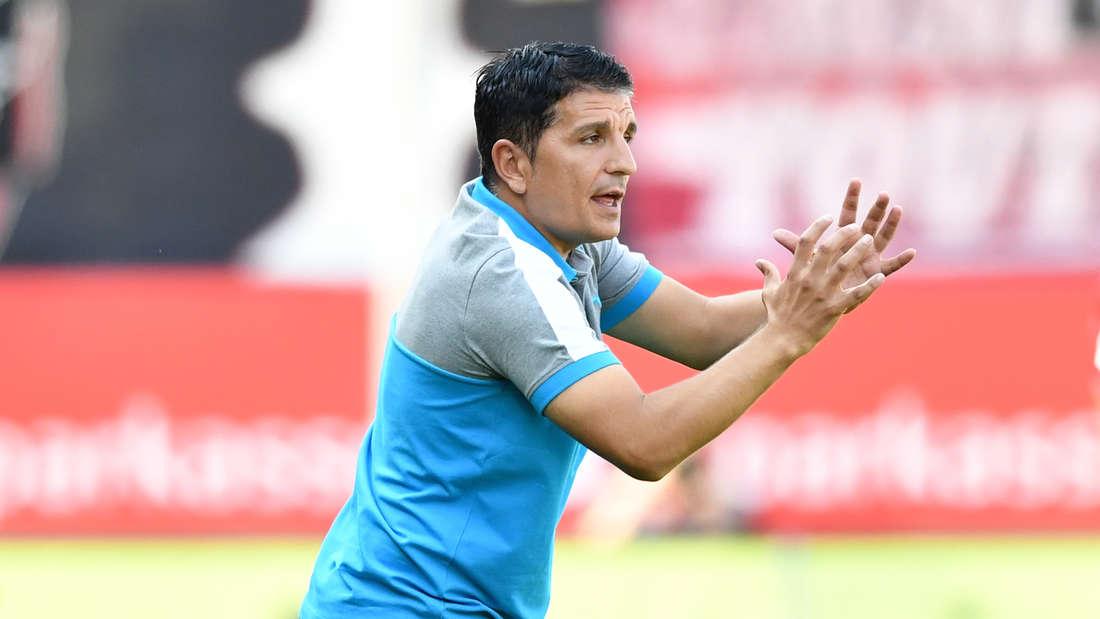 Kenan Kocak will mit dem SVS den zweiten Saisonsieg einfahren.