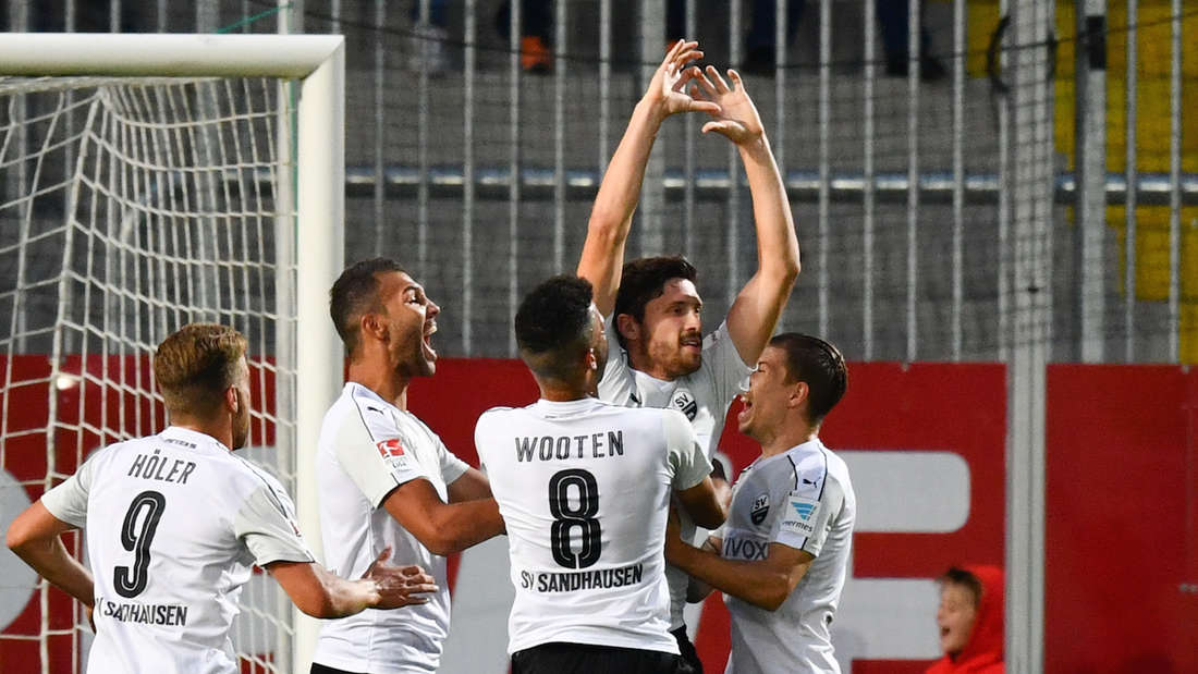 SV Sandhausen - Dynamo Dresden
