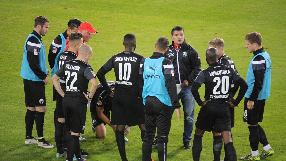 Testspiel zwischen dem SV Sandhausen und Eintracht Frankfurt.