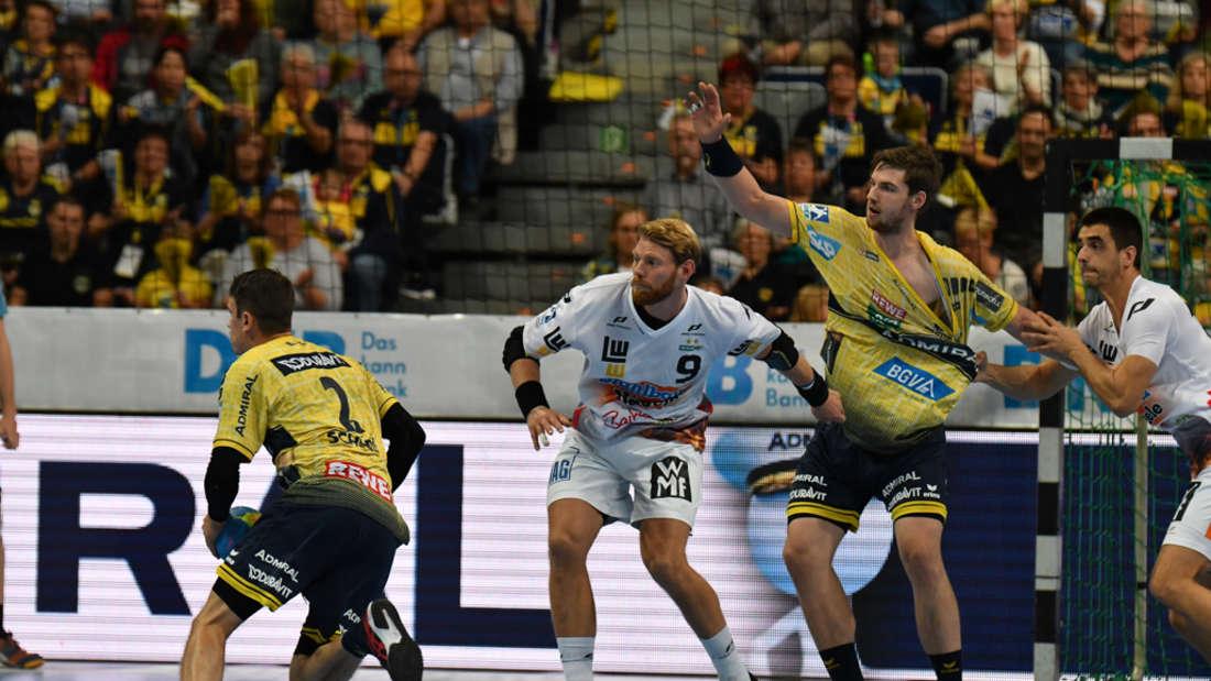 Rhein-Neckar Löwen gewinnen Baden-Württemberg-Derby gegen Frisch Auf Göppingen.