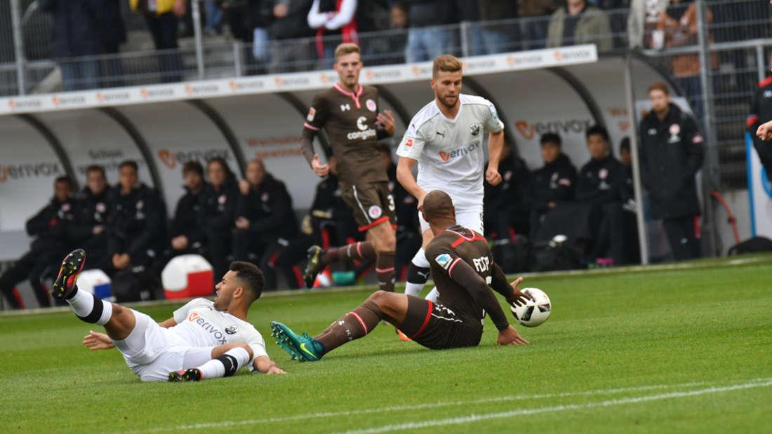 SV Sandhausen gewinnt gegen den FC St. Pauli.
