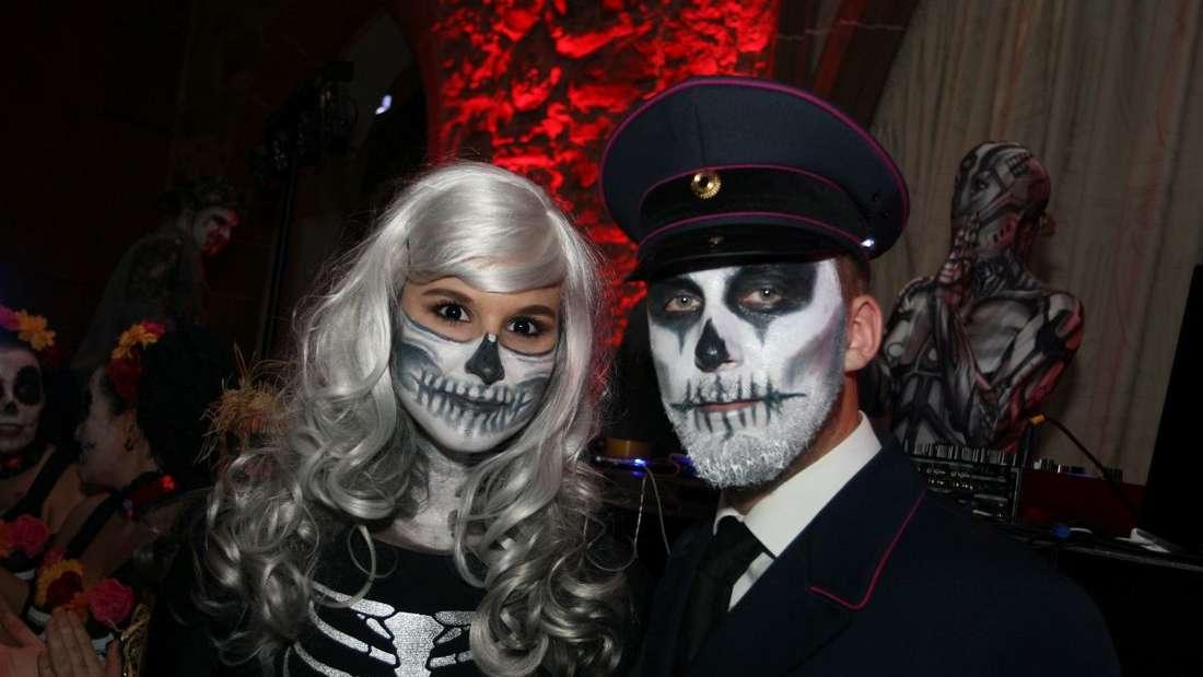 Ein Riesenspaß ist die Halloween-Party im Königsaal des Heidelberger Schlosses!