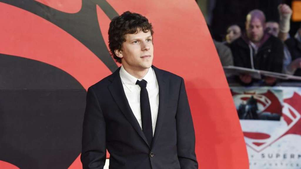 "Jesse Eisenberg in London bei der Premiere des Films ""Batman v Superman: Dawn of Justice"". Foto: Facundo Arrizabalaga"