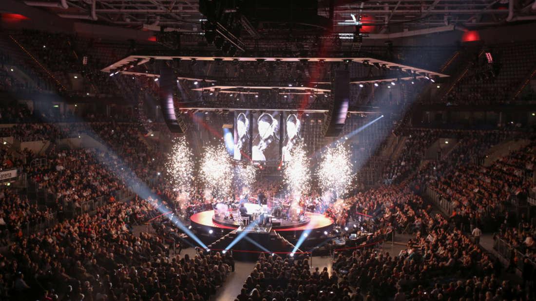 """David Garrett im Rahmen seiner """"EXPLOSIVE Live!""""-Tour in der SAP Arena."""
