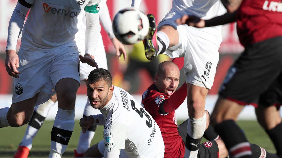 1. FC Nürnberg - SV Sandhausen