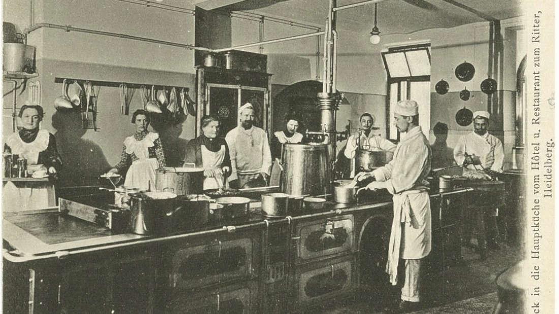 Historische Fotos vom Hotel zum Ritter