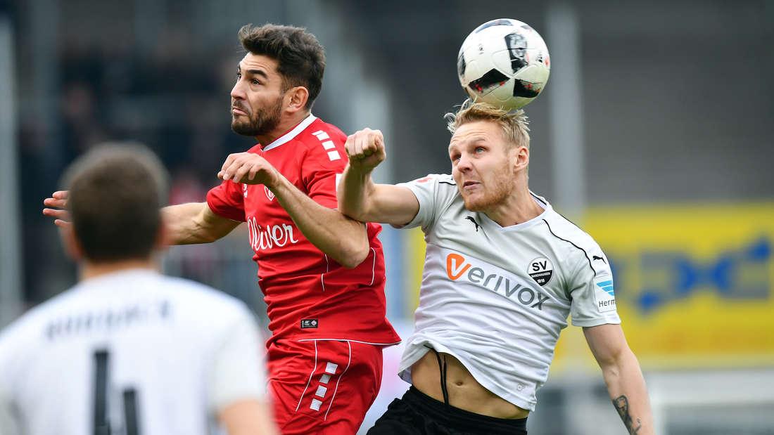 SV Sandhausen - Würzburger Kickers