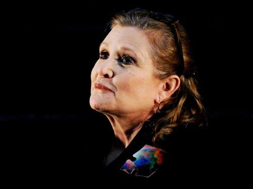 """Wie betäubt"" - Promis gedenken ""Star Wars""-Star Carrie Fisher"
