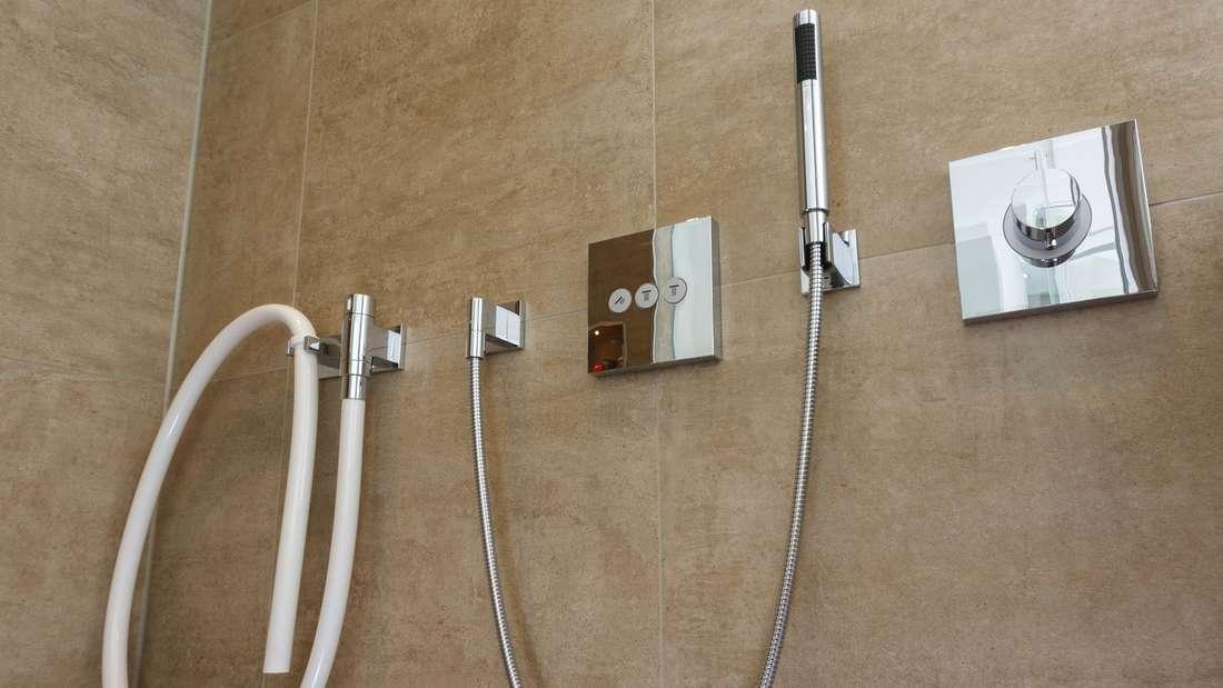 Duschen im Regen: Was moderne Brausen fürs Bad alles können