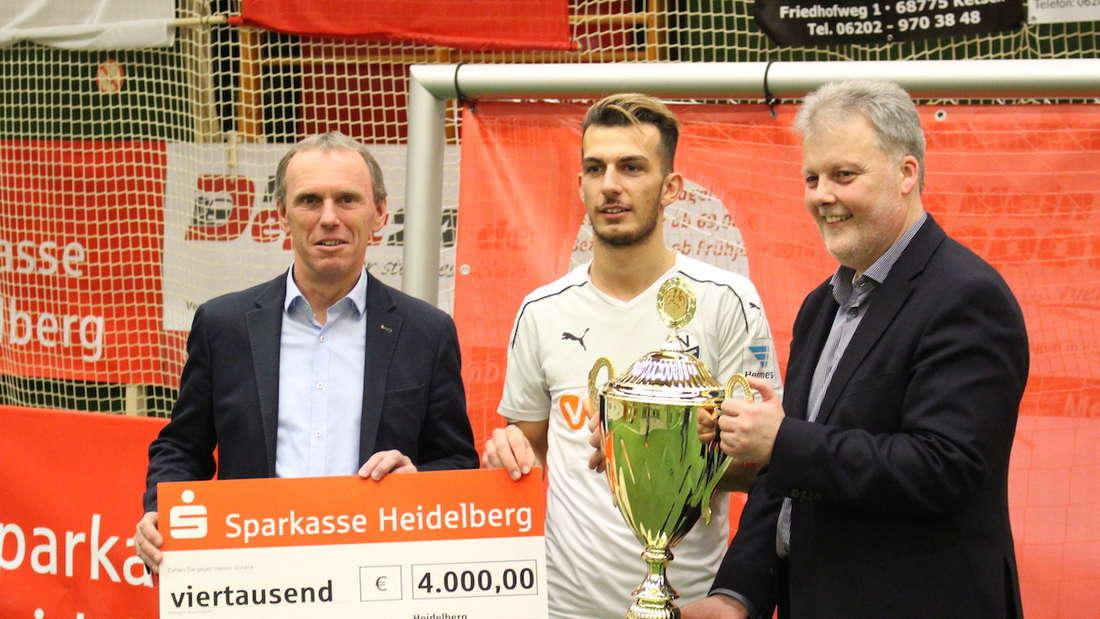 SV Sandhausen gewinnt den SparkassenCup 2017.