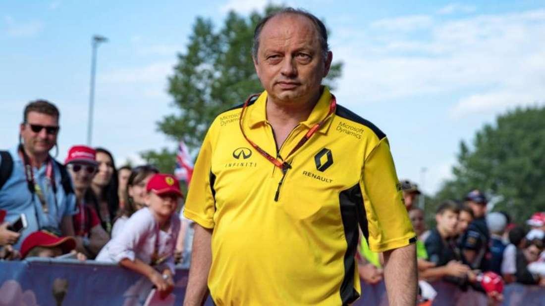 Frédéric Vasseur wird Renault verlassen. Foto: Expa/Johann Groder