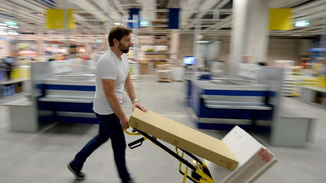 Irgendwann ist man zu alt für IKEA.