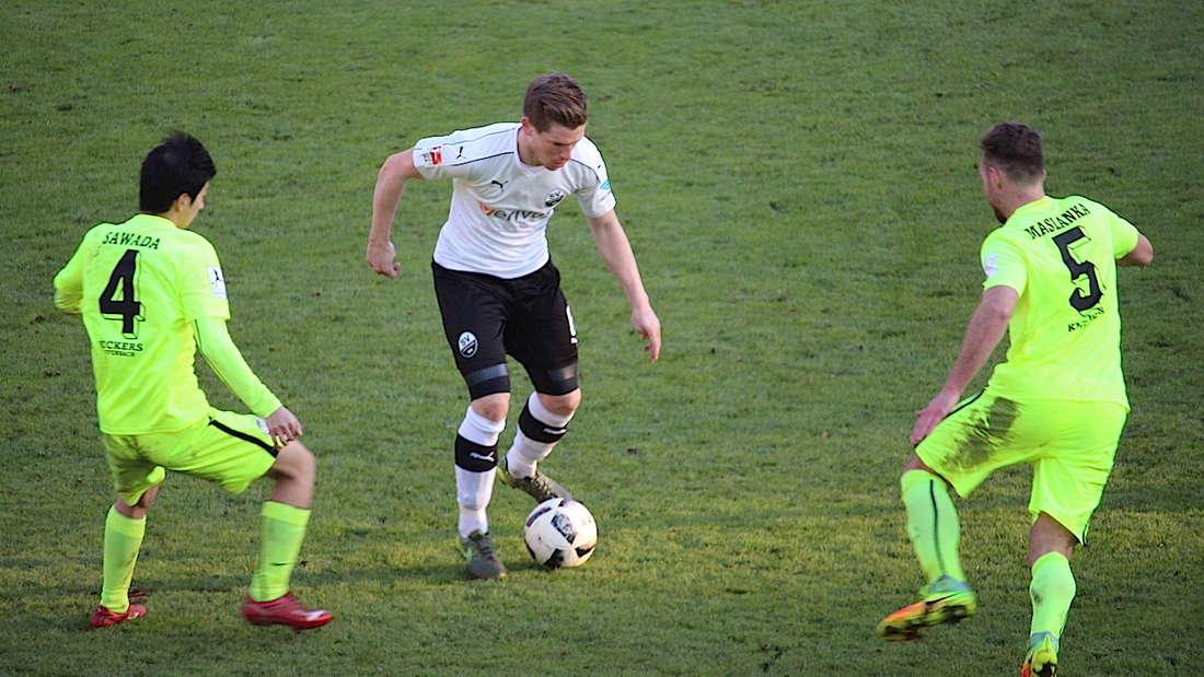 SV Sandhausen verliert Testspiel gegen die Kickers Offenbach.