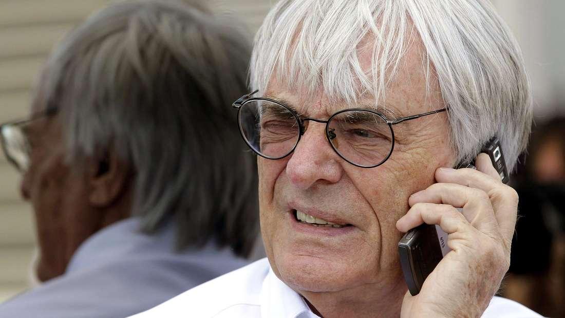 Bernie Ecclestone wird laut englischer Medienberichte diese Woche zurücktreten.