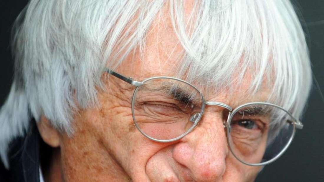 Bernie Ecclestone hat über Jahrzehnte die Geschicke der Formel gelenkt. Foto: Gerry Penny