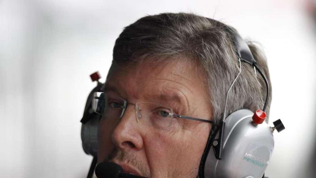 Ross Brawn wird in der Formel-1 einen Direktorenposten übernehmen. Foto: Aly Song