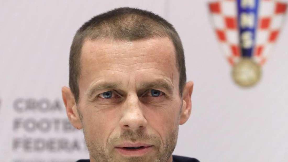 UEFA-Präsident Aleksander Ceferin. Foto: Antonio Bat