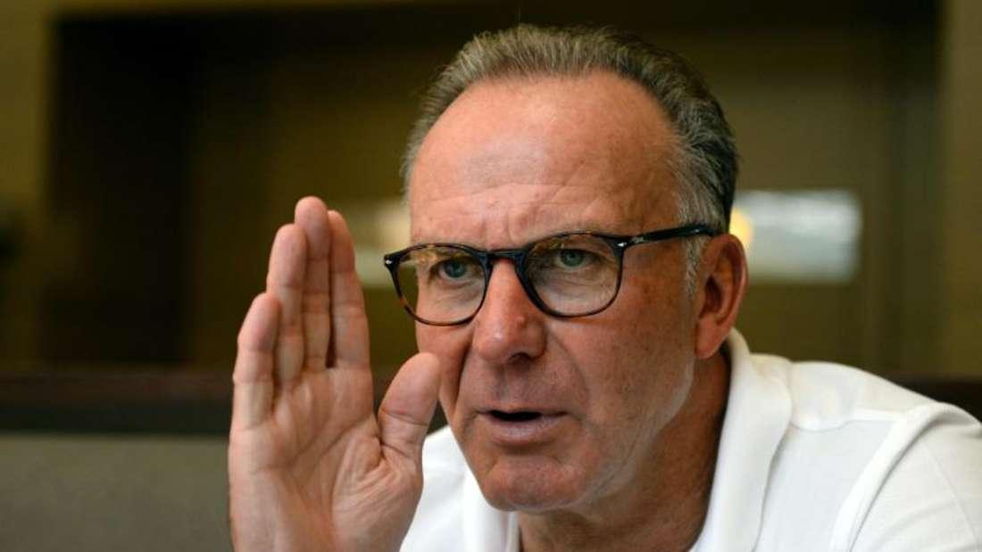 Karl-Heinz Rummenigge teilte erneut gegen die FIFA aus. Foto: Andreas Gebert