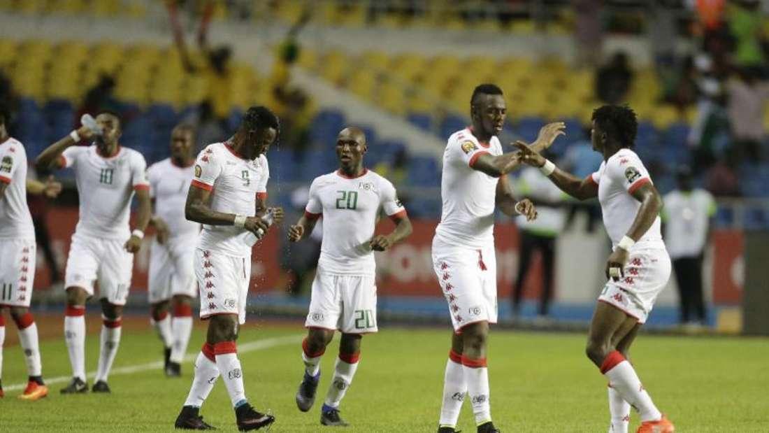 Burkina Faso trifft als krasser Außenseiter im Halbfinale des Afrika Cups auf Ägypten. Foto: Sunday Alamba
