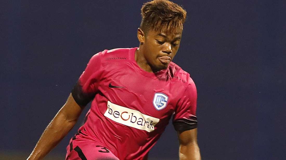 Leon Bailey in den Playoffs der Europa League gegen den kroatischen Verein NK Lokomotiva Zagreb.