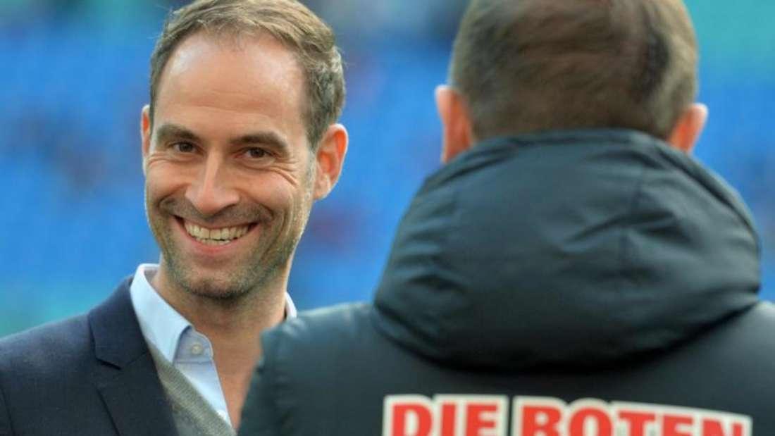 Oliver Mintzlaff sieht RB Leipzig irgendwann in der Zukunft als deutschen Meister. Foto:Hendrik Schmidt