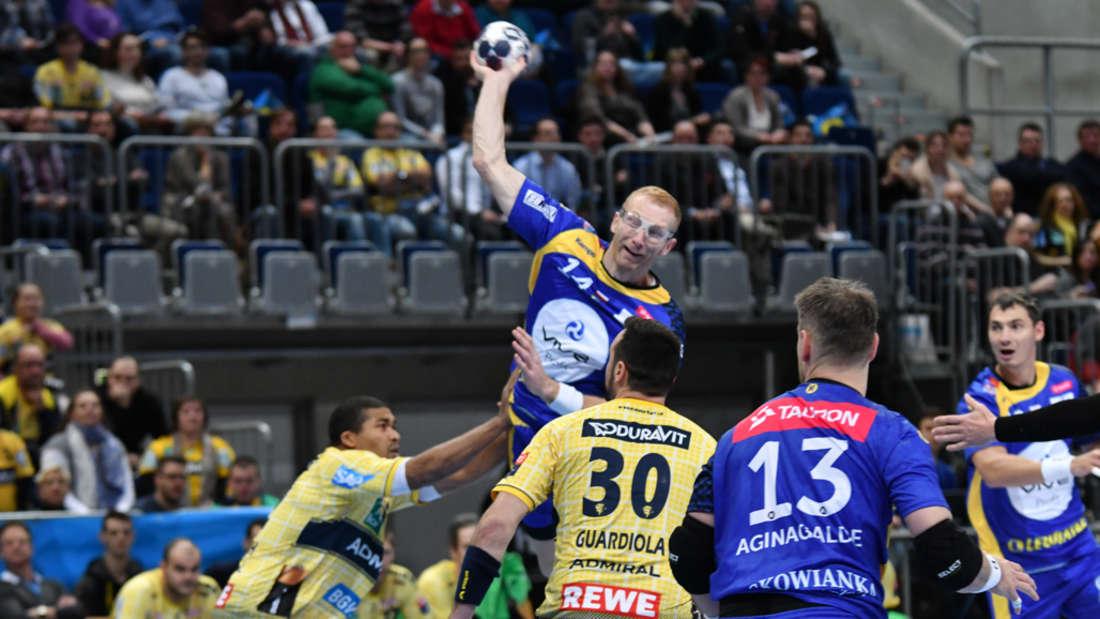 VELUX EHF Champions League: Rhein-Neckar Löwen gegen KS Vive Tauron Kielce.