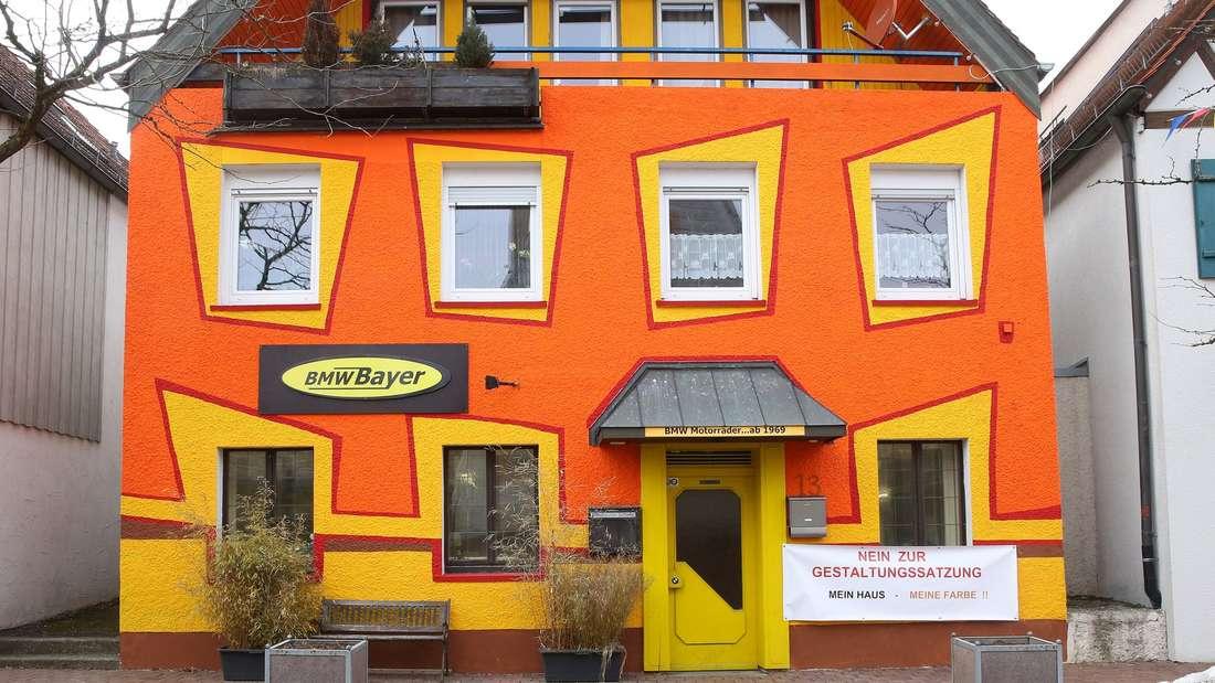 Dieses Haus in Hayingen ist ein Zankapfel.