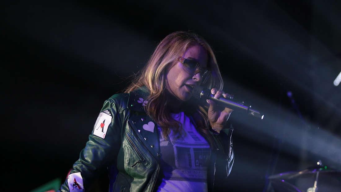 Superstar Anastacia gibt am Donnerstagabend zugunsten der Deutschen Kinderkrebsstiftung ein Konzert im Wormser.