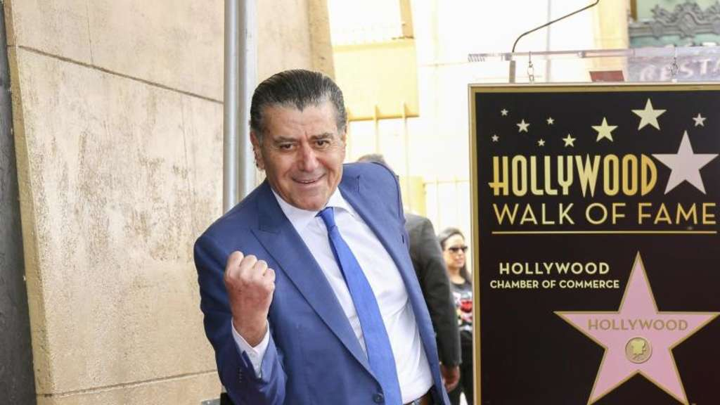 Haim Saban hat jetzt einen Stern auf dem Hollywood Walk of Fame. Foto: Willy Sanjuan/Invision