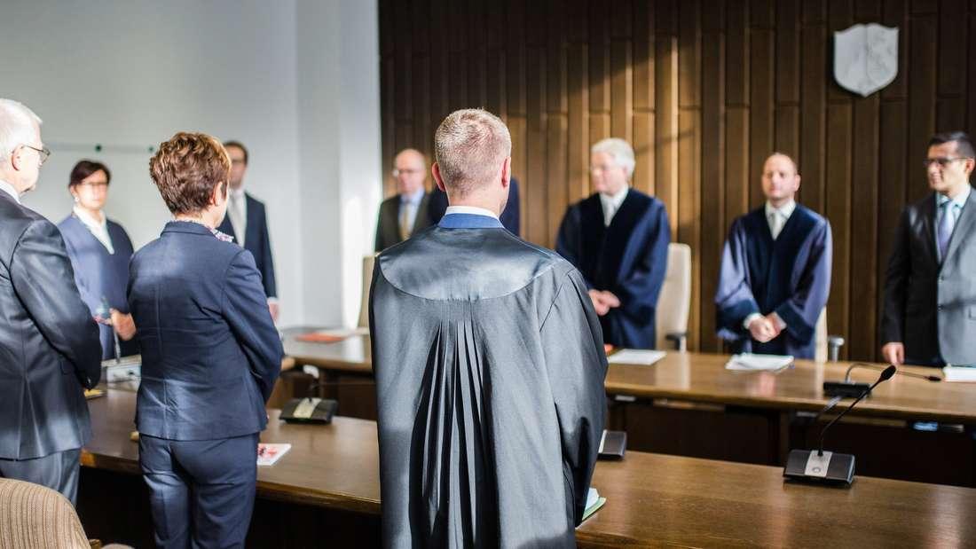 Platz 15: Rechtsanwälte ernten für ihre Arbeit vielAnerkennung.