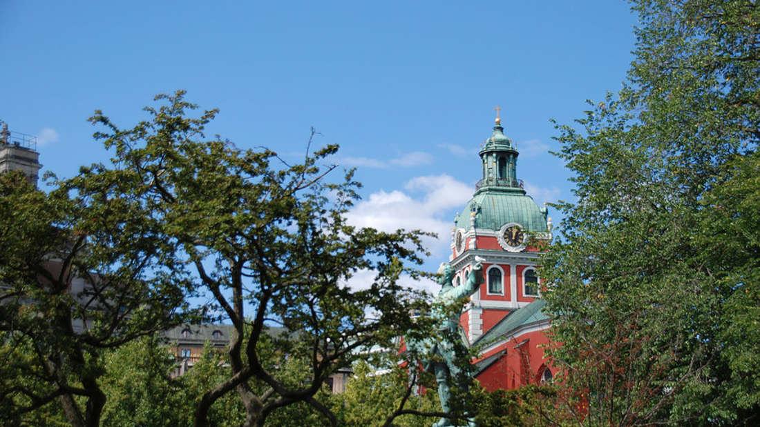 Die Naturverbundenheit in Stockholm ist spürbar.