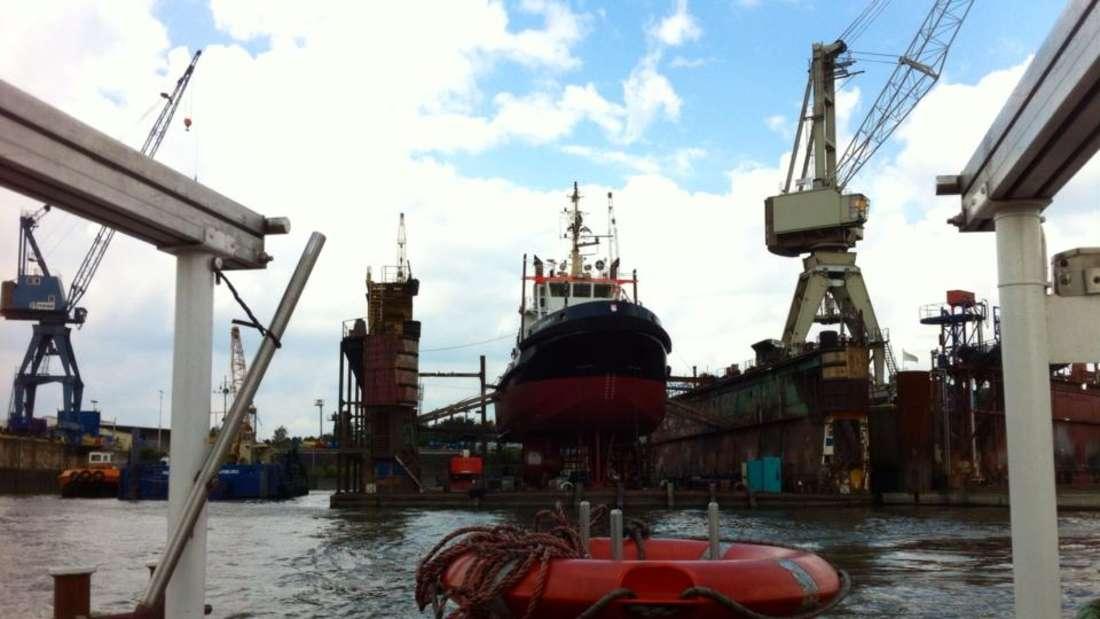 Bei gutem Wetter machen das maritime Flair und die hanseatische Luft richtig gute Laune.