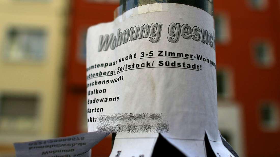 Die Mietpreise in deutschen Uni-Städten steigen weiterhin an.