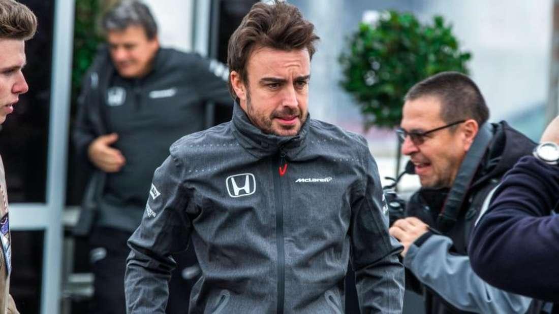 Fernando Alonso wird auch 2017 nichts mit dem WM-Titel zu tun haben. Foto: Jens Büttner
