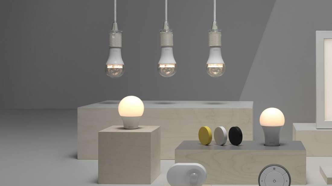 Ikea setzt mit der neuen Kollektion auf smarte Technik.