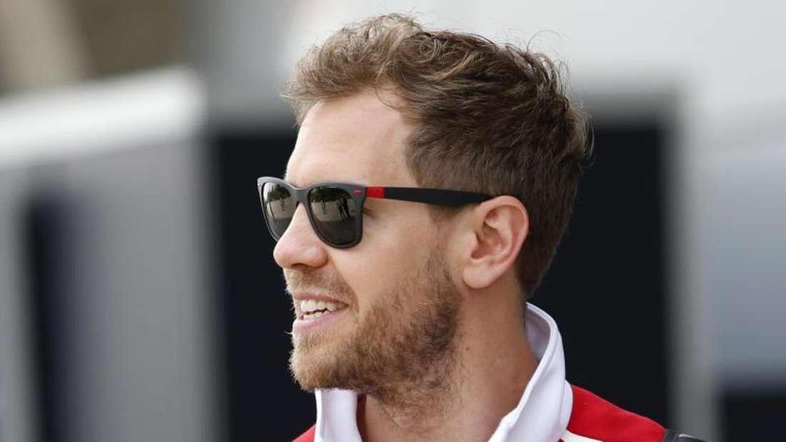 Sebastian Vettel hält weiterhin Mercedes für den Favoriten. Foto: Toru Takahashi