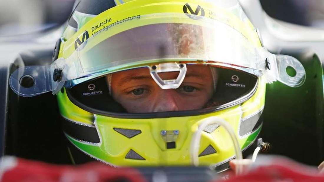 Mick Schumacher steigerte sich im zweiten Rennen. Foto: Ronald Wittek