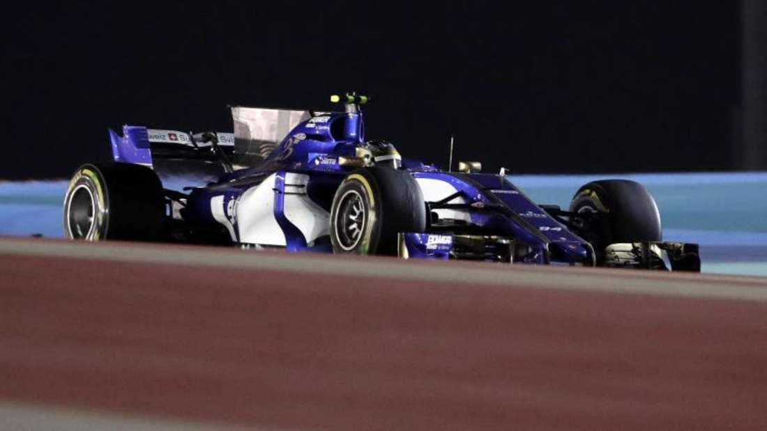 Pascal Wehrlein fuhr mit seinem Sauber in Bahrain auf Rang elf.