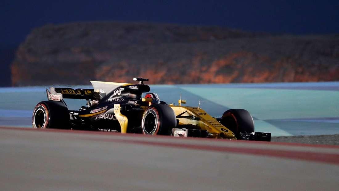 Nico Hülkenberg (Renault) kam in Bahrain als Neunter ins Ziel.