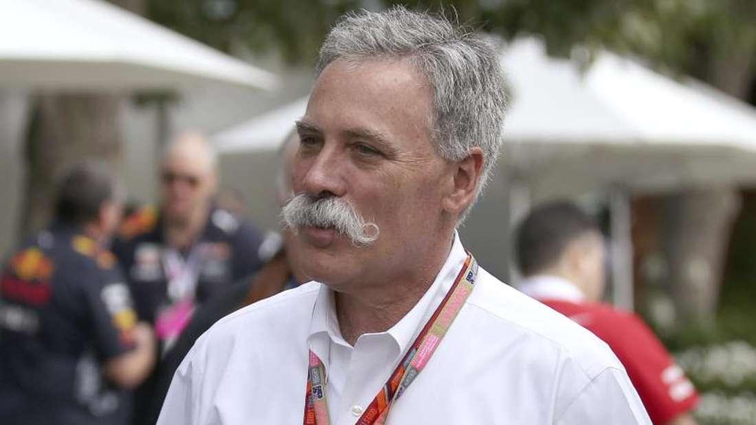 Chase Carey hat nach der Ablösung von Bernie Ecclestone durch den neuen Formel-1-Besitzer Liberty Media die Geschäftsführung der Rennserie übernommen. Foto: Rick Rycroft